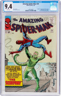 Silver Age (1956-1969):Superhero, The Amazing Spider-Man #20 (Marvel, 1965) CGC NM 9.4 Whitepages....