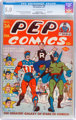 Pep Comics #36 (MLJ, 1943) CGC VG/FN 5.0 Cream to off-white pages