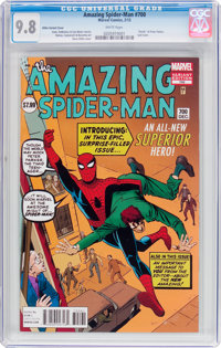 The Amazing Spider-Man #700 Ditko Variant Cover (Marvel, 2013) CGC NM/MT 9.8 White pages