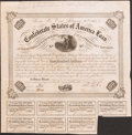 Confederate Notes, Ball 212 Cr. 120 $100 1863 Bond. . ...