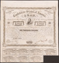 Confederate Notes, Ball 241 Cr. 126 Bond $1000 1863.. ...