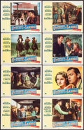 """Movie Posters:Western, Streets of Laredo (Paramount, 1949). Lobby Card Set of 8, Two Autographed (11"""" X 14""""). Western.. ... (Total: 8 Items)"""