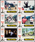 "Movie Posters:Action, The Big Boss (National General, 1973). Lobby Cards (6) (11"" X 14""). Alternate Title: Fists of Fury. Action.. ... (Total: 6 Items)"