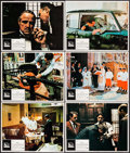 """Movie Posters:Crime, The Godfather (Paramount, 1972). Lobby Cards (6) (11"""" X 14"""").Crime.. ... (Total: 6 Items)"""