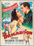 """Movie Posters:Musical, Brigadoon (MGM, 1956). French Grande (47"""" X 63"""") Roger Soubie Artwork. Musical.. ..."""