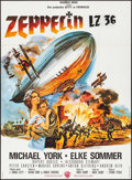 "Movie Posters:War, Zeppelin (Warner Brothers, 1971). French Grande (45.5"" X 62"").War.. ..."