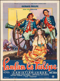 "Movie Posters:Foreign, Fan Fan the Tulip (Filmsonor, 1952). French Grande (46.75"" X 62.5""). Foreign.. ..."