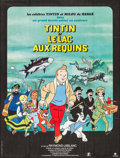 "Movie Posters:Animation, Tintin and the Lake of Sharks (Parafrance, 1972). French Grande (45.75"" X 60.25""). Animation.. ..."
