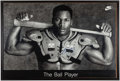 """Football Collectibles:Uniforms, Bo Jackson Signed Nike """"The Ball Player"""" Poster. . ..."""