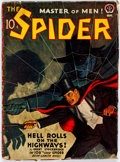 Pulps:Hero, The Spider - September 1942 (Popular) Condition: VG....