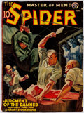 Pulps:Hero, The Spider - June 1940 (Popular) Condition: GD/VG....
