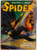 Pulps:Hero, The Spider - July 1940 (Popular) Condition: GD/VG....