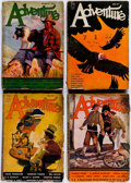 Pulps:Adventure, Adventure Box Lot (Ridgway Company, 1932-53) Condition: Average GD.... (Total: 3 Box Lots)