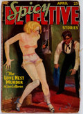 Pulps:Detective, Spicy Detective Stories - April 1934 (Culture Publications)Condition: GD....