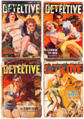 Pulps:Detective, Spicy Detective Stories Group of 11 (Culture, 1938-42) Condition:Average GD.... (Total: 11 Comic Books)