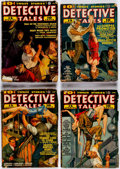 Pulps:Detective, Detective Tales Box Lot (Popular Publications, 1937-53) Condition: Average GD.... (Total: 2 Box Lots)