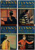 Pulps:Detective, Flynn's Weekly/Flynn's Detective Fiction Box Lot (PopularPublications, 1924-44) Condition: GD.... (Total: 3 Items)