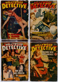 Pulps:Detective, Hollywood Detective Group of 22 (Trojan Publishing, 1943-50)Condition: Average GD.... (Total: 22 Comic Books)