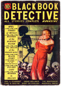 Pulps:Detective, Black Book Detective - April 1935 (Better Publications) Condition:GD/VG....