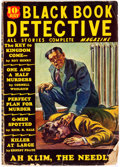 Pulps:Detective, Black Book Detective - July 1936 (Better Publications) Condition: GD....