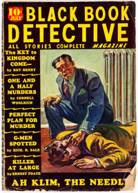 Black Book Detective - July 1936 (Better Publications) Condition: GD