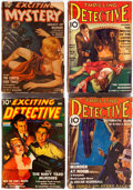 Pulps:Detective, Assorted Detective Pulps Group of 7 (Various, 1933-43) Condition:Average GD.... (Total: 7 Items)