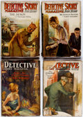 Pulps:Detective, Detective Story Magazine Box Lot (Street & Smith, 1920-27)Condition: Average GD.... (Total: 57 Items)