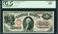 Large Size:Legal Tender Notes, Fr. 24 $1 1875 Legal Tender PCGS Extremely Fine 40.. ...
