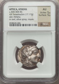 Ancients:Greek, Ancients: ATTICA. Athens. Ca. 440-404 BC. AR tetradrachm (17.17gm). NGC AU 5/5 - 5/5....