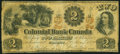 Canadian Currency, Toronto, ON- Colonial Bank of Canada $2 May 17, 1859 Ch. #130-10-02-04. ...