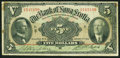 Canadian Currency, Halifax, NS- Bank of Nova Scotia $5 Jan. 2, 1924 Ch. # 550-32-02....