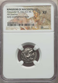 Ancients:Greek, Ancients: MACEDONIAN KINGDOM. Alexander III the Great (336-323 BC).AR drachm. NGC XF....