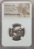 Ancients:Greek, Ancients: PHOENICIA. Tyre. Ca. 126/5 BC-AD 67/8. AR shekel (14.20gm). NGC Fine 3/5 - 2/5....