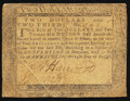 Colonial Notes, Maryland August 14, 1776 $2 2/3 Fine.. ...