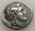 Ancients:Greek, Ancients: THRACIAN KINGDOM. Lysimachus (305-281 BC). AR tetradrachm(16.84 gm). About VF....