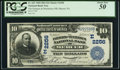 National Bank Notes:Pennsylvania, Mercer, PA - $10 1902 Date Back Fr. 623 The Farmers & MechanicsNB Ch. # (E)2256. ...