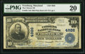 National Bank Notes:Maryland, Frostburg, MD - $10 1902 Plain Back Fr. 630 The Citizens NB Ch. # 4926. ...