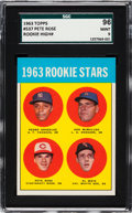 Baseball Cards:Singles (1960-1969), 1963 Topps Pete Rose - 1963 Rookie Stars #537 SGC 96 Mint 9 - Only One Higher. ...