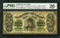 Canadian Currency, DC-8f-i $1 1878.. ...