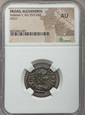 Ancients:Ancient Lots  , Ancients: ANCIENT LOTS. Roman Provincial. AD 54-310 Lot of four (4)BI and AE issues. NGC Choice VF-AU.... (Total: 4 coins)
