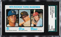 Baseball Cards:Singles (1970-Now), 1973 Topps Mike Schmidt - Rookie 3rd Basemen #615 SGC 92 NM/MT+8.5. ...