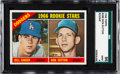 Baseball Cards:Singles (1960-1969), 1966 Topps Don Sutton - Dodgers Rookie Stars #288 SGC 96 Mint 9....