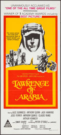 "Movie Posters:Academy Award Winners, Lawrence of Arabia (Columbia, R-1970s). Australian Daybill (13.5"" X30""). Academy Award Winners.. ..."