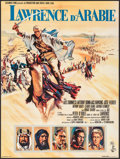 "Movie Posters:Academy Award Winners, Lawrence of Arabia (Columbia, 1962). French Affiche (22.75"" X30.5"") Howard Terpning Artwork. Academy Award Winners.. ..."