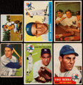 Baseball Cards:Lots, 1950-55 Bowman/Topps Yogi Berra Collection (6).. ...