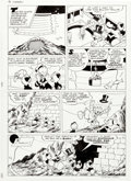 Original Comic Art:Panel Pages, William Van Horn Anders And & Co. [Donald Du...