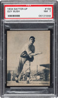 Baseball Cards:Singles (1930-1939), 1934-36 Batter-Up Guy Bush #158 PSA NM 7....