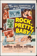 """Movie Posters:Rock and Roll, Rock, Pretty Baby (Universal International, 1957). One Sheet (27"""" X40.75""""). Rock and Roll.. ..."""