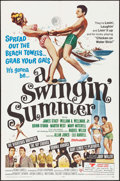 "Movie Posters:Rock and Roll, A Swingin' Summer & Other Lot (United Screen Arts, 1965). OneSheet (27"" X 41"") & Australian Photo Sheet (27"" X 40""). Rocka... (Total: 2 Items)"