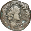 Ancients:Roman Provincial , Ancients: EGYPT. Alexandria. Otho (AD 69). AE drachm (34mm, 19.02gm, 12h). Choice Fine....